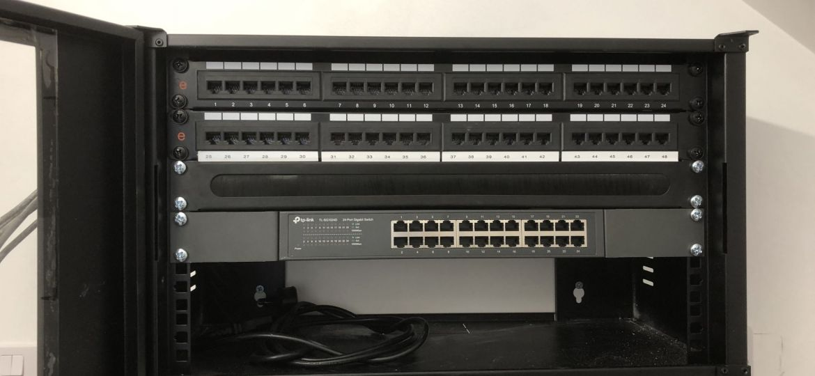 Installed Comms Rack